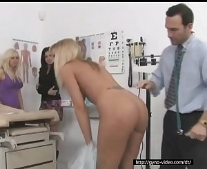 One doctor takes care of his three hot patients