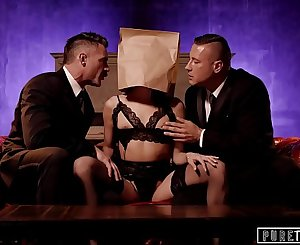 PURE TABOO Emily Willis Submits for Her 2 Dom Daddies