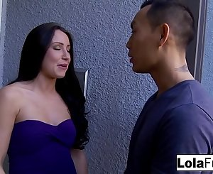 Cute Lola gets a ultra-kinky fuck session from Asian hunk Keni