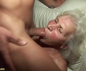 german granny in her first porn movie